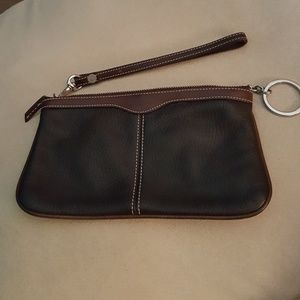 Dooney & Bourke Leather Clutch Wristlet
